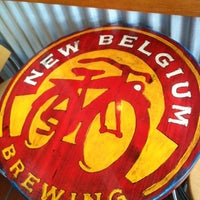 Photo taken at New Belgium Brewing by Rick W. on 8/1/2012