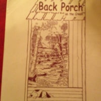 Photo taken at Back Porch Restaurant by Chase A. on 6/25/2012