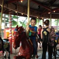 Photo taken at Kiddie Park by Alejandra T. on 3/29/2012