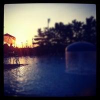 Photo taken at Great Kills Swim Club by Nick S. on 5/28/2012