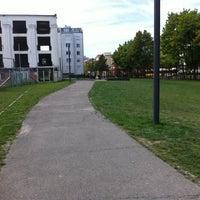 Photo taken at Vorm Fahrstuhl - U-Bernauerstrasse by Michael B. on 7/24/2012