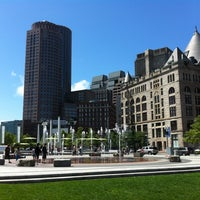 Photo taken at The Rose Kennedy Greenway by Georgy C. on 6/17/2012