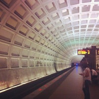 Photo taken at Capitol South Metro Station by Kimberly B. on 8/20/2012