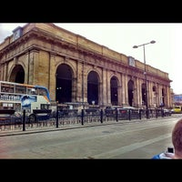 Photo taken at Newcastle Central Railway Station (NCL) by Dan G. on 4/15/2012