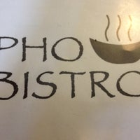Photo taken at Pho Bistro by Earl Y. on 6/24/2012