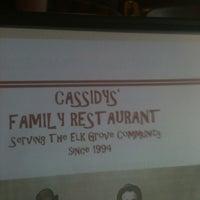Photo taken at Cassidy's Family Restaurant by John B. on 3/16/2012