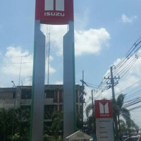 Photo taken at Chonburi Isuzu Sale by Mr.Apirak P. on 7/7/2012