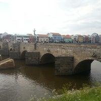 Photo taken at Stone bridge by Petr M. on 8/8/2012