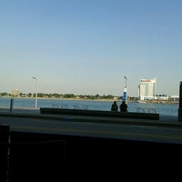 Photo taken at Andiamo Detroit Riverfront by Brittany A. on 6/15/2012