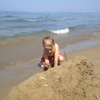 Photo taken at Beach Punta Ala by Anton-Jan T. on 8/21/2012