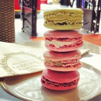 Photo taken at Ladurée by Jason Tse on 6/6/2012