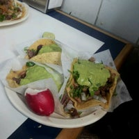 Photo taken at Tacos El Franc by Fausto S. on 6/30/2012