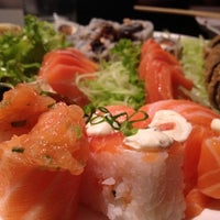 Photo taken at Tomodachi Sushi by Renato G. on 5/27/2012