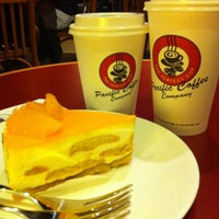 Photo taken at Pacific Coffee Company by Wong K. on 8/26/2012