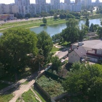 Photo taken at Озеро «Райдужне» by Денис Х. on 9/5/2012