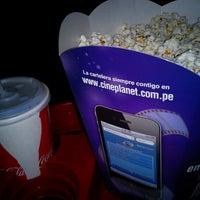 Photo taken at Cineplanet by Josue T. on 8/8/2012