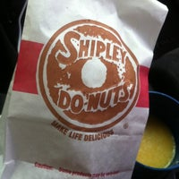 Photo taken at Shipley's Donuts by Greg R. on 2/17/2012