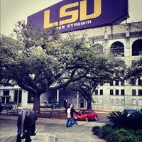 Photo taken at Louisiana State University by Whitney B. on 2/16/2012