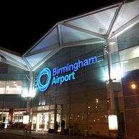 Photo taken at Birmingham Airport (BHX) by Jamie L. on 7/19/2012