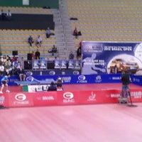 Photo taken at Arena Santos by Ari B. on 6/17/2012