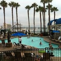 Photo taken at Sheraton San Diego Hotel & Marina by Cherisse W. on 8/6/2012