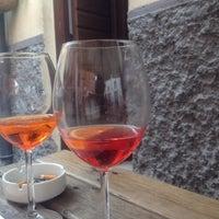 Photo taken at Osteria a la Carega by Nicola Z. on 6/2/2012