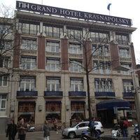 Снимок сделан в NH Collection Amsterdam Grand Hotel Krasnapolsky пользователем Emily M. 4/20/2012
