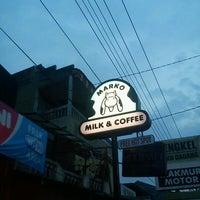 Photo taken at Marko Milk and Coffee by Bernardinus N. on 6/20/2012