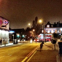 Photo taken at Clapham North London Underground Station by Marcelo A. on 3/13/2012