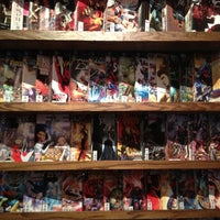 Photo taken at Bergen Street Comics by Rafi on 4/10/2012