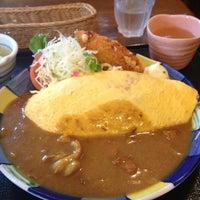 Photo taken at でみぐら亭 by matsun0409 on 9/6/2012