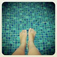 Photo taken at Swimming Pool Royal Mediterania Garden by Joan J. on 6/7/2012