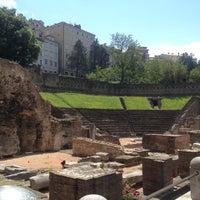 Photo taken at Teatro Romano by Anne O. on 5/25/2012