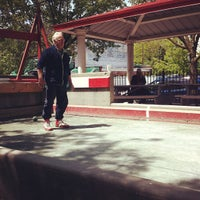 Photo taken at William F. Moore Park ('Spaghetti Park') by Michael M. on 4/28/2012