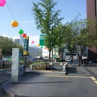 Photo taken at City Hall Stn. by Hwang S. on 5/5/2012