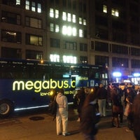 Photo taken at Mega Bus - 7th Ave & 27th St by sunnychang on 4/6/2012