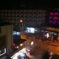 Photo taken at Orion Beach Hotel by Tarık on 7/20/2012