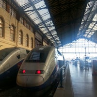 Photo taken at Marseille Saint-Charles Railway Station by Brian S. on 9/6/2012
