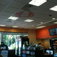 Photo taken at Dunkin Donuts by Polly S. on 7/25/2012