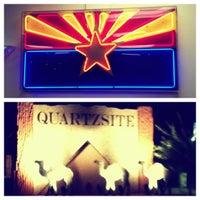 Photo taken at Town of Quartzsite by Rolando O. on 8/6/2012