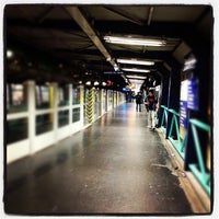 Photo taken at Métro Bastille [1,5,8] by Patrice D. on 6/12/2012