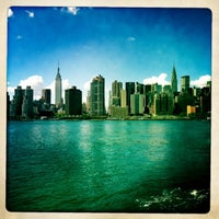 Photo taken at East River Ferry - Hunters Point South/Long Island City Terminal by Karen M. on 9/9/2012