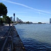 Das Foto wurde bei Hudson River Park Run von George S. am 6/24/2012 aufgenommen
