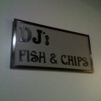 Photo taken at DJ's Fish & Chips by Kimberly D. on 9/12/2012