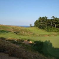 Photo taken at Whistling Straits Golf Course by Andy W. on 7/31/2012