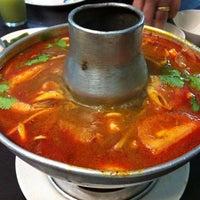 Photo taken at Khunthai Authentic Thai Restaurant by Jayne on 7/7/2012