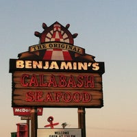 Photo taken at The Original Benjamin's Calabash Seafood by Ashley T. on 6/29/2012