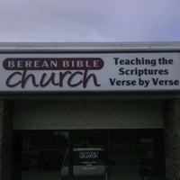 Photo taken at Berean Bible Church by Jeff M. on 3/18/2012