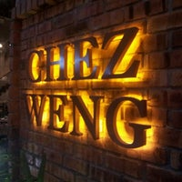 Photo taken at Chez Weng Modern Grill Restaurant by joe l. on 7/12/2012
