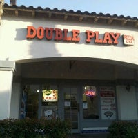 Photo taken at Double Play Pizza by Cami R. on 5/21/2012